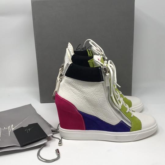 Giuseppe Zanotti multi pink green white purple black Athletic Image 8