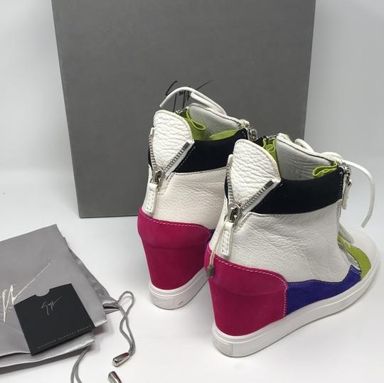Giuseppe Zanotti multi pink green white purple black Athletic Image 9
