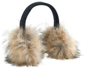 440693a4d8dc6 J.Crew Faux-fur earmuffs with Black Watch lining