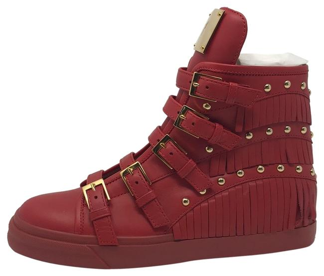 Item - Red Gold New Sneakers Size EU 39.5 (Approx. US 9.5) Regular (M, B)