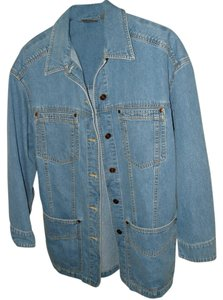 Liz Claiborne Denim Blue Womens Jean Jacket