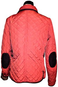 Zara Woman Quilted Filled/ Down Orange Jacket