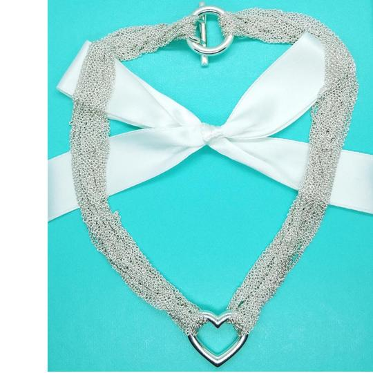Tiffany & Co. Retired Multistrand heart toggle necklace Image 1