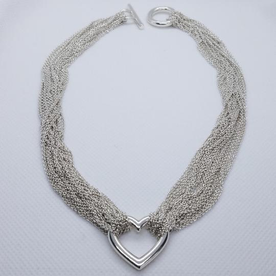 Tiffany & Co. Retired Multistrand heart toggle necklace Image 2