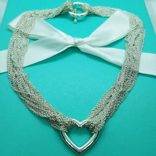 Tiffany & Co. Retired Multistrand heart toggle necklace Image 3