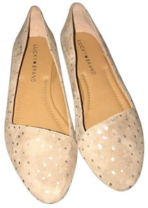 Lucky Brand light brown Flats