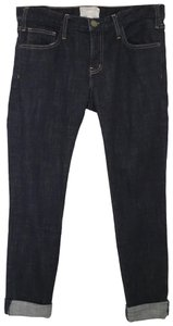 Current/Elliott Relaxed Fit Jeans-Dark Rinse