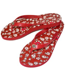 Coach Women Abbigail Red Sandals
