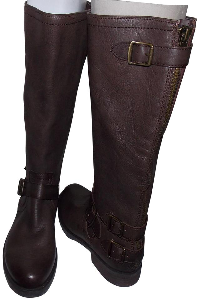 64848a33aa077 Arturo Chiang Brown Leather Boots Booties Size US 7.5 Regular (M