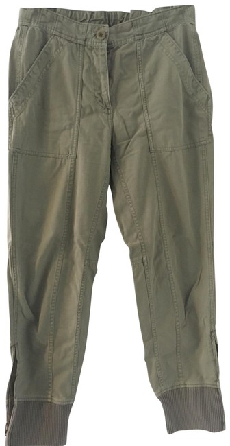 Item - Army Green Boyfriend / with Ankle Zip Pants Size 4 (S, 27)