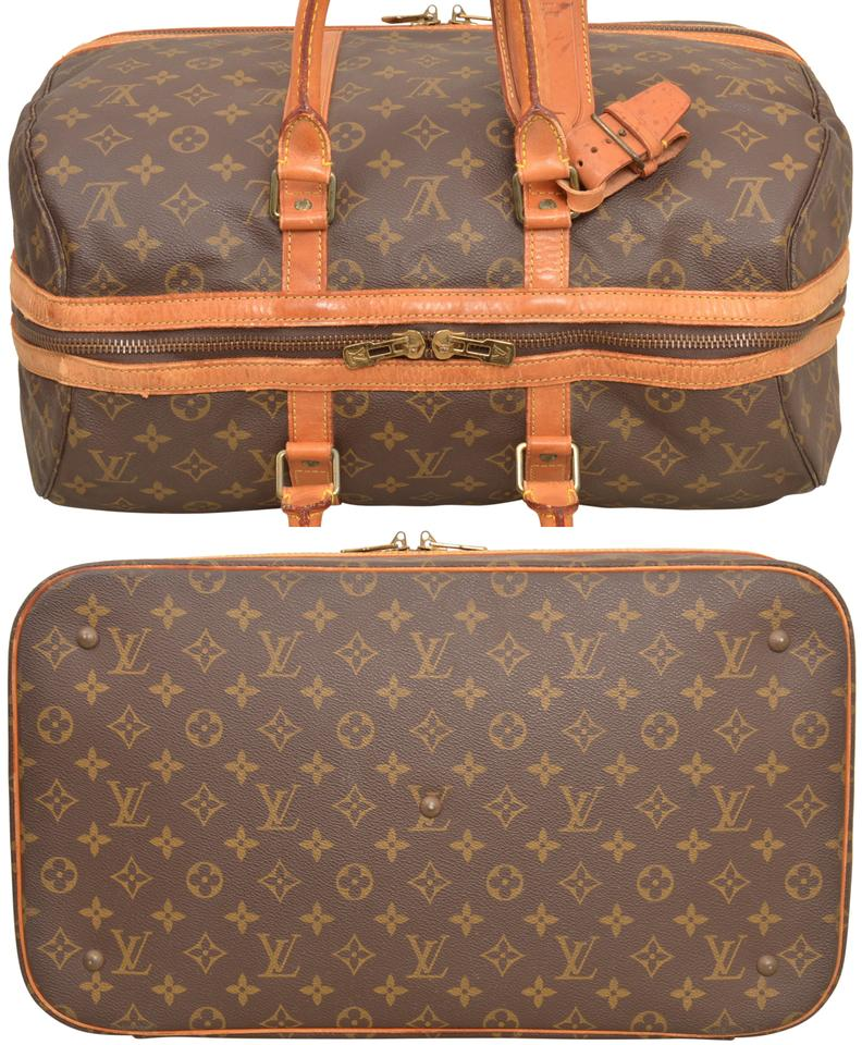 478101a67c9 Louis Vuitton Duffle Sac Sport Carry On Luggage Suitcase M41443 Brown  Monogram Weekend Travel Bag - Tradesy