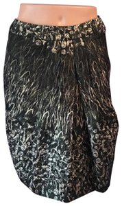 Pauw Amsterdam Brocade Pockets Pencil Skirt Black
