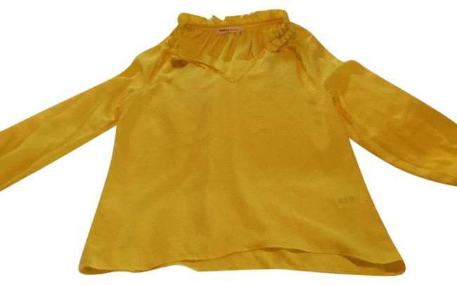 "Yellow ""dream A Dream"" Blouse Size 4 (S) Yellow ""dream A Dream"" Blouse Size 4 (S) Image 1"