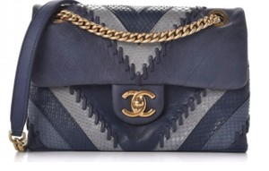 9d645c36916a Chanel Python Bags - Up to 70% off at Tradesy
