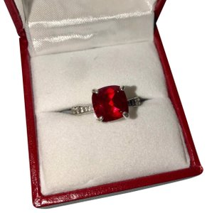 Zales Zales - Ruby Engagement Ring