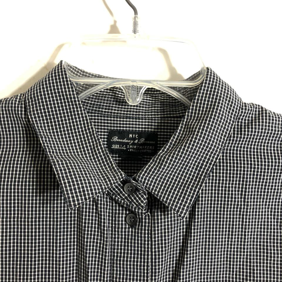 8dc760a8814 Black And White Checkered Dress Shirt – EDGE Engineering and ...