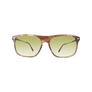 3592ae714b Tom Ford Tom Ford FT0588 47N Max-02 TF-588 Transparent Brown Gold sunglasses