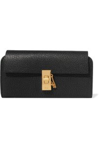Chloé New With Tag Chloe Drew Textured Leather Continental Wallet