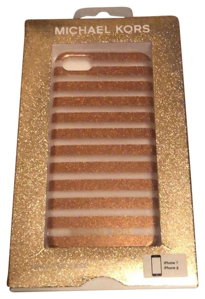 969e4e393a45 Michael Kors Rose Gold Iphone 7 8 Phone Case Tech Accessory - Tradesy