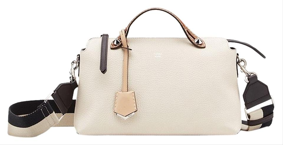d3de85dd750b Fendi By The Way Ivory Grained Leather Shoulder Bag - Tradesy
