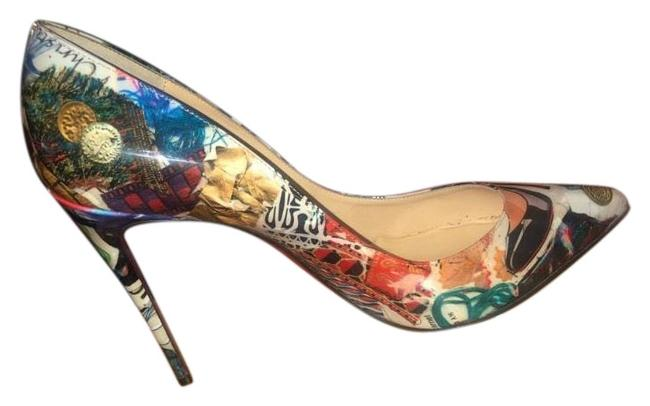 Item - Multicolor Pigalle Follies 100 Patent Leather Pumps Size EU 40 (Approx. US 10) Narrow (Aa, N)