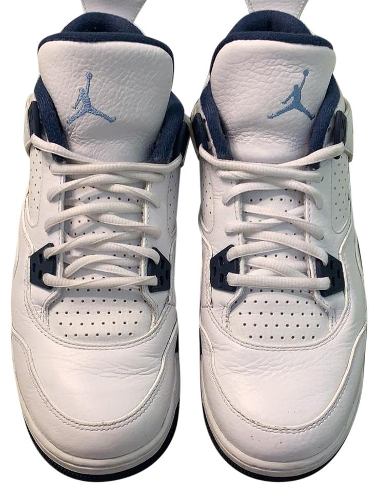 new arrival 5e33b 1b015 Air Jordan White Legend Blue-midnight Navy 408452 107 Sneakers