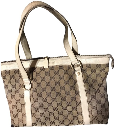 Preload https://img-static.tradesy.com/item/24567082/gucci-gg-monogram-off-white-canvas-and-leather-tote-0-1-540-540.jpg