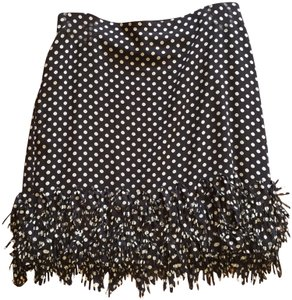 Ann Taylor Mini Skirt navy