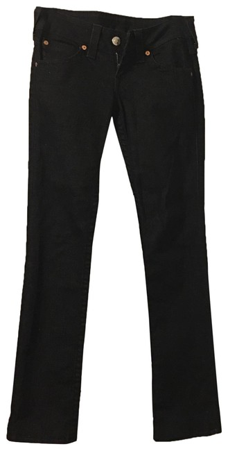 Item - Black Dark Rinse 112790 Straight Leg Jeans Size 2 (XS, 26)