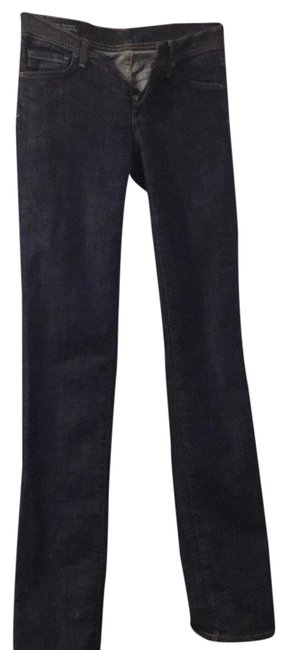 Citizens of Humanity Dark Denim Rinse Ava 142 Straight Leg Jeans Size 0 (XS, 25) Citizens of Humanity Dark Denim Rinse Ava 142 Straight Leg Jeans Size 0 (XS, 25) Image 1
