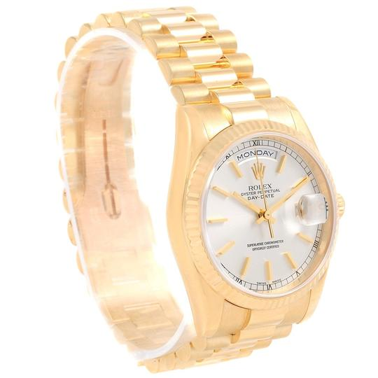 Rolex Rolex President Day-Date Yellow Gold Mens Watch 118238 Box Papers