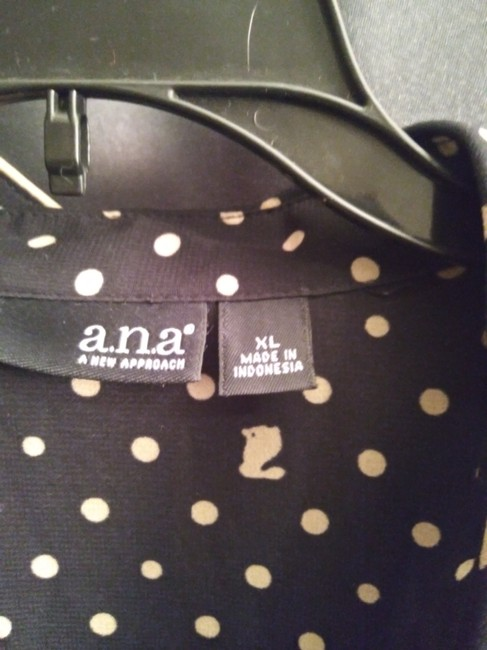A.N.A Top Black and Gold