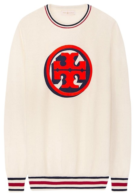 Preload https://img-static.tradesy.com/item/24567410/tory-burch-isabelle-new-ivory-nantucket-red-sweater-0-1-650-650.jpg
