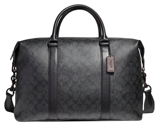 Coach Duffle Voyager Black and dark grey Travel Bag