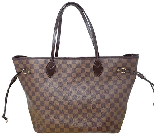 Preload https://img-static.tradesy.com/item/24567520/louis-vuitton-neverfull-mm-damier-ebene-brown-tote-0-1-540-540.jpg