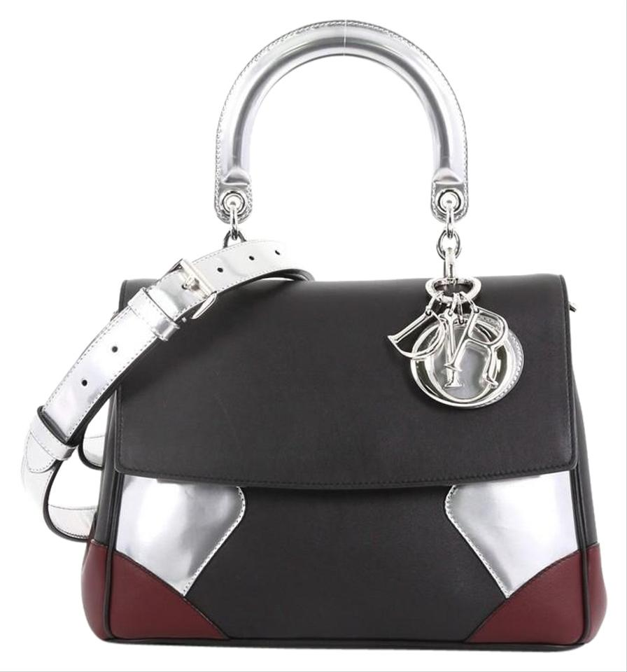 e8d3aeb925f1 Dior Be Smooth Small Black Leather Satchel - Tradesy