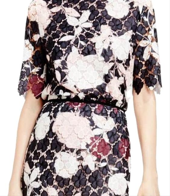 Preload https://img-static.tradesy.com/item/24567900/vince-camuto-black-pink-purple-elbow-sleeve-print-lace-blouse-size-2-xs-0-1-650-650.jpg