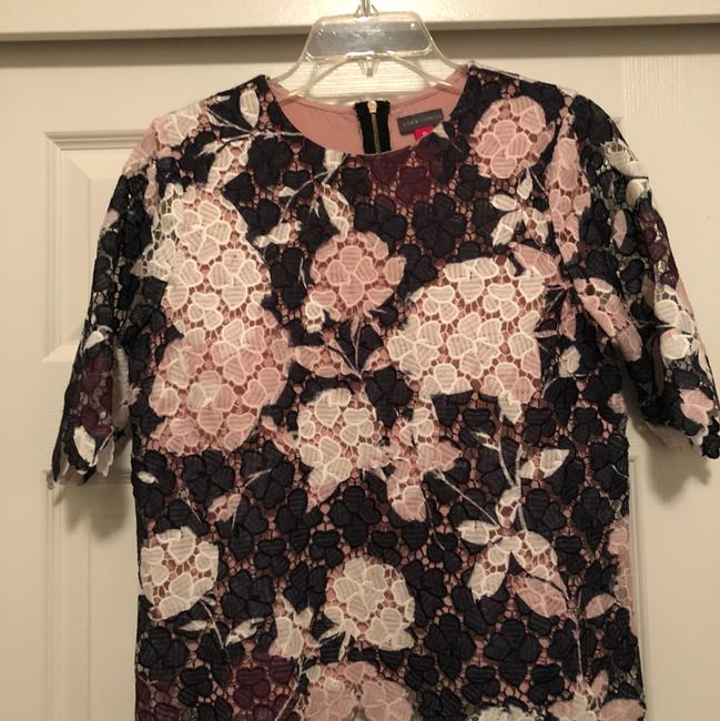 Vince Camuto Top Black, pink, purple