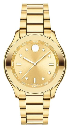 Preload https://img-static.tradesy.com/item/24567907/movado-bold-38mm-gold-dial-yellow-gold-ion-plated-swiss-quartz-ladies-watch-0-1-540-540.jpg