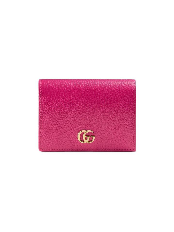 on sale 8fda3 43899 Gucci Leather Card Case Wallet