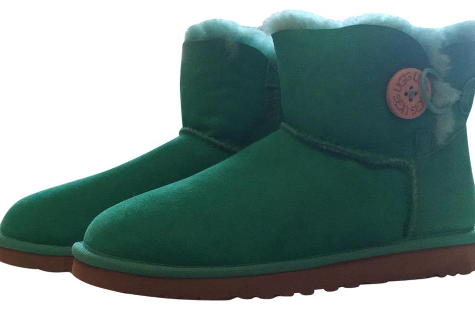 4c7f116d8 UGG Australia Emerald Green 3352 Mini Button Bailey Boots/Booties ...