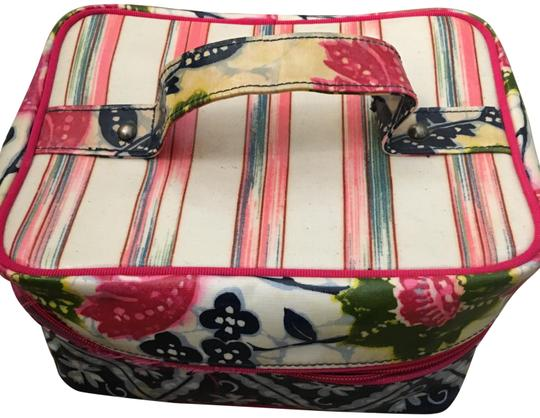 Preload https://img-static.tradesy.com/item/24568009/plenty-by-tracy-reese-pink-floral-train-case-cosmetic-bag-0-1-540-540.jpg