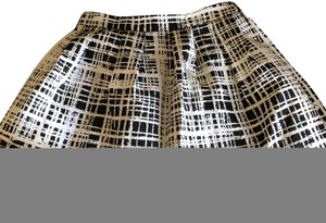 Urban Outfitters Mini Skirt black/white