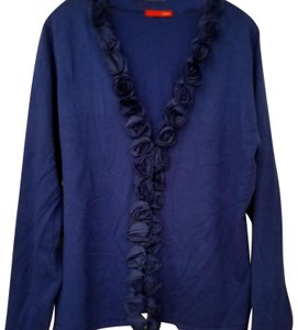 Cyrus Cobalt Cardigan Lord And Taylor New Sweater