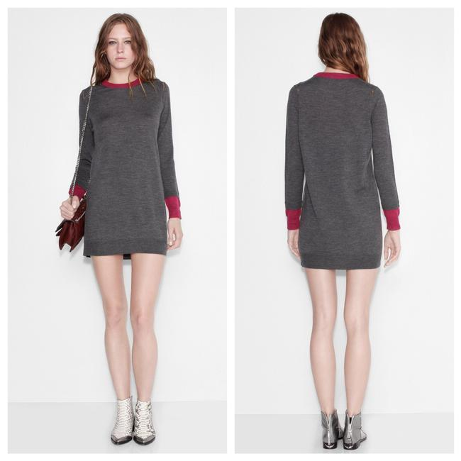 Preload https://img-static.tradesy.com/item/24568155/zadig-and-voltaire-gray-rimini-wool-sweater-short-casual-dress-size-8-m-0-0-650-650.jpg