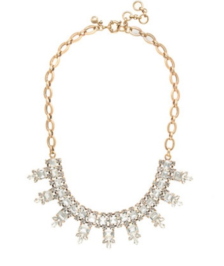Preload https://img-static.tradesy.com/item/24568175/jcrew-gold-crystal-statement-w-pouch-necklace-0-0-540-540.jpg