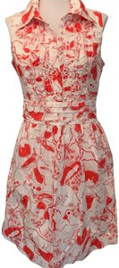 Lilly Pulitzer short dress Spin the bottle print on Tradesy