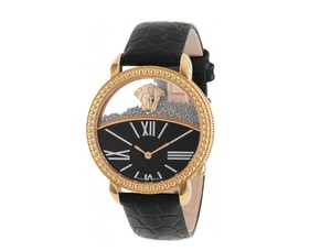 Versace New Versace Krios 93Q80BD008 S009 Floating Spheres Gold Tone 38MM