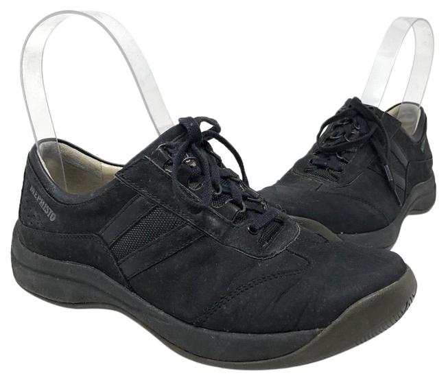 Mephisto Black Suede Low Top Sneakers Size US 7 Regular (M, B) Mephisto Black Suede Low Top Sneakers Size US 7 Regular (M, B) Image 1