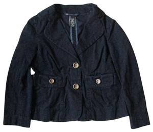 Marc by Marc Jacobs Casual Spring Fall Jean Black Womens Jean Jacket